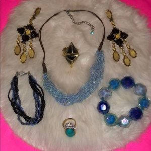 Fashion Jewelry & Gap(?) or Old Navy(?)